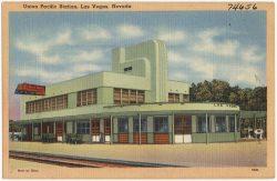 Union Pacific Station, Las Vegas, ca. 1930–1945 (Foto: Boston Public Library)