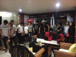 19 Personen wurden verhaftet. (Foto: Thailandtip.info)