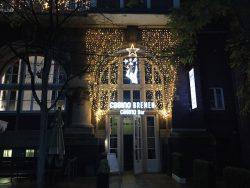 Die Spielbank Bremen erstrahlt bereits in weihnachtlichem Glanz. (Foto: WestSpiel)