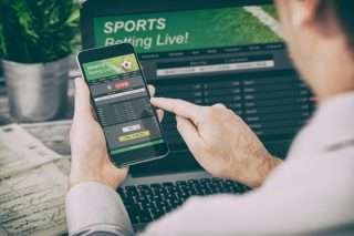 Sportwetten auf Laptop und Handy