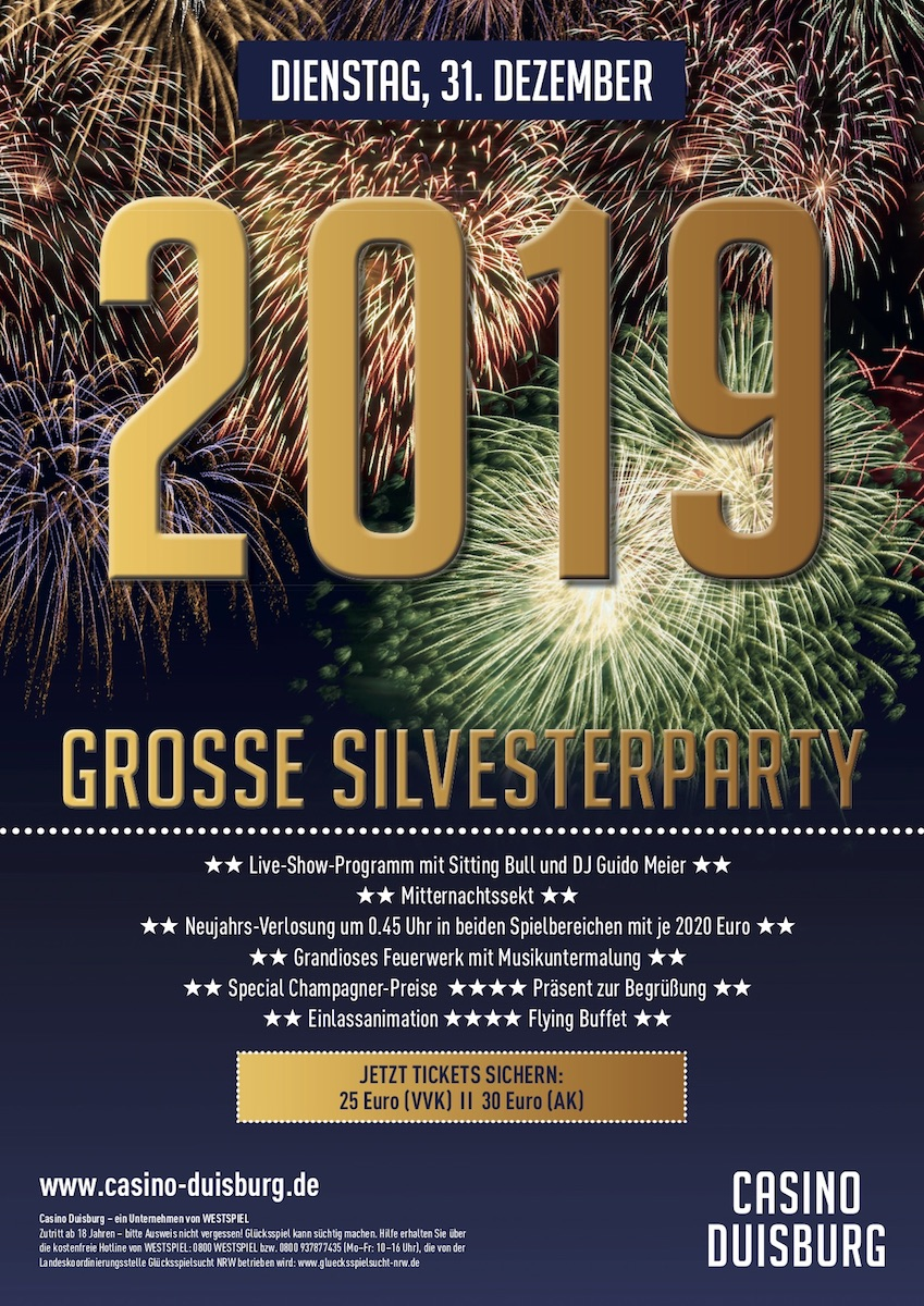 Silvesterparty Duisburg