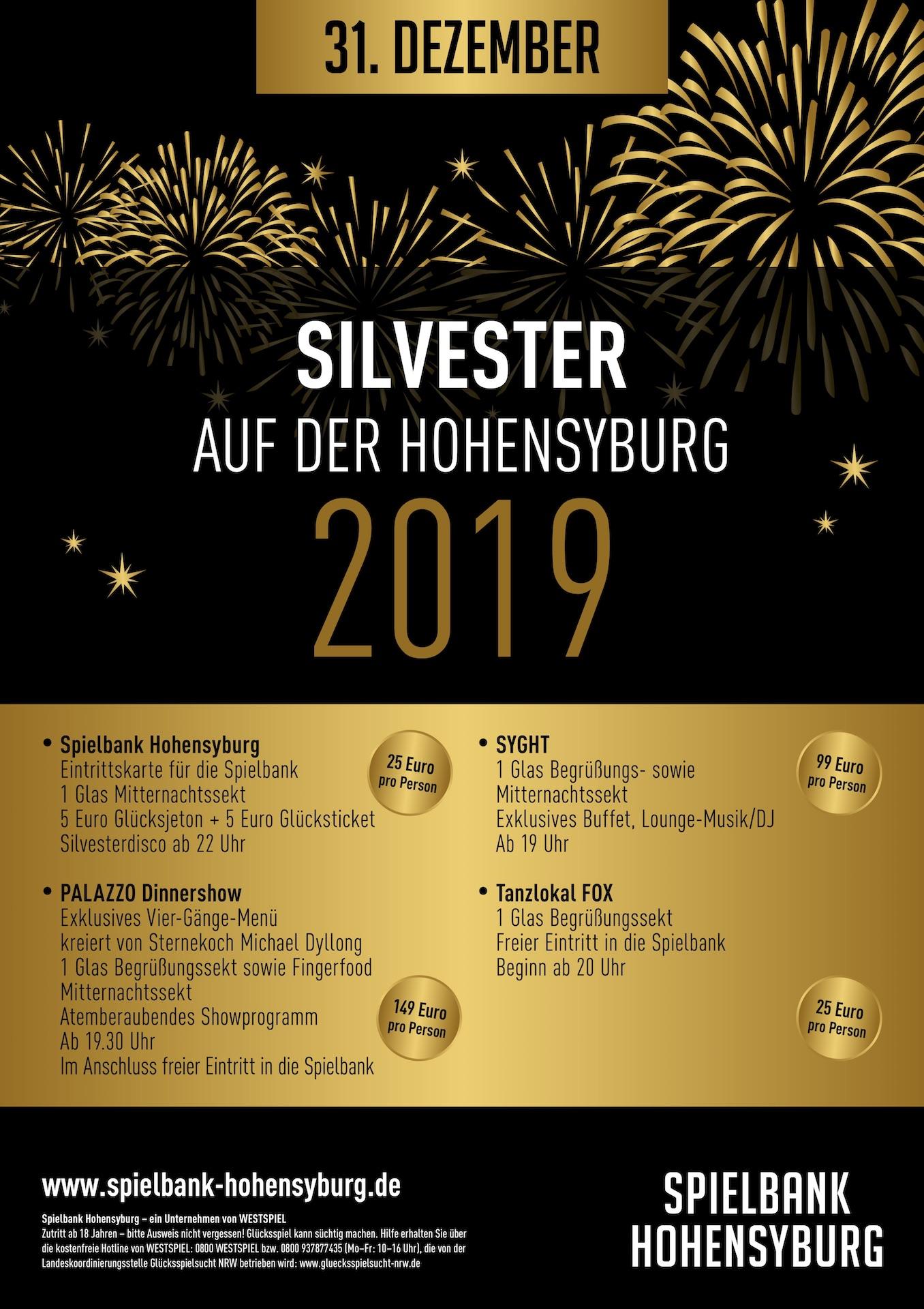 Hohensyburg Silvester