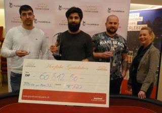 Sieger des Poker Circle Swiss Open