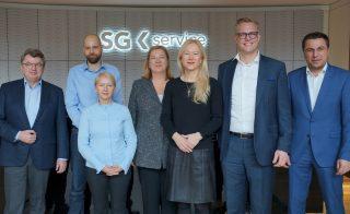 Anja Bischof war zu Gast bei der SG Service Zentral GmbH