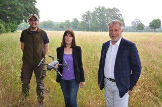 Karin Ortgies, Sven Schumacher, Dr. Werner Schroer