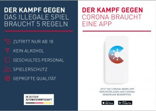 DAW Corona-Warn-App Plakat
