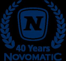 Logo 49 Jahre Novomatic