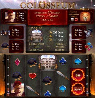 Colosseum Walzenlauf