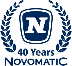 Logo 40 Years Novomatic