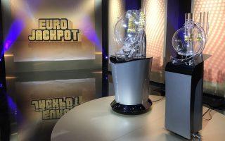 Ziehungsstudio der Lotterie Eurojackpot im finnischen Helsinki