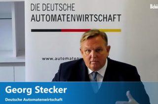 DAW-Vorstandssprecher Georg Stecker bei der Webkonferenz (Copyright: DAW)