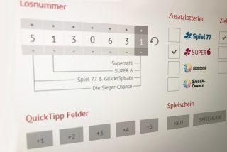 Kleines Häkchen – große Wirkung! Die Zusatzlotterie SUPER6 brachte einem Onlinespieler am vergangenen Samstag den Hauptgewinn von 100.000 Euro. (Foto: LOTTO Mecklenburg-Vorpommern)