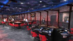 Das Industrie-Design unterscheidet das Casino 96 von seinen Mitbewerbern.