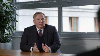 DAW-Vorstandssprecher Georg Stecker im Interview Anfang Oktober. (Foto: Behörden Spiegel)
