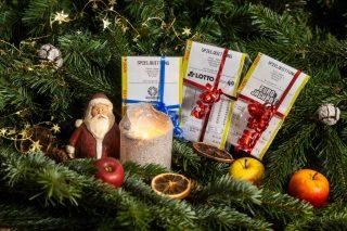 Was für eine Bilanz über Weihnachten: Gleich vier Millionäre und elf weitere Großgewinner ist das NRW-Ergebnis zu den Ziehungen über die Festtage. (Foto: MünsterView / Heiner Witte)