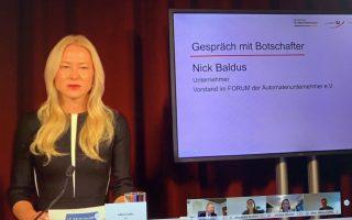 FORUM-Geschäftsführerin Anja Bischof (Foto: DAW/AWI)