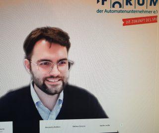 FORUM-Vorstandsmitglied Nick Baldus (Foto: DAW/AWI)