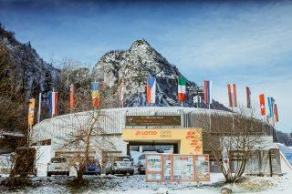 Die LOTTO Bayern Eisarena am Königssee (Foto: Mareks Galinovskis)