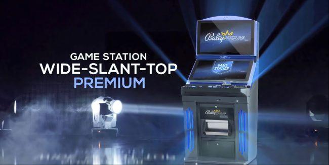 GAME STATION WIDE-SLANT-TOP PREMIUM