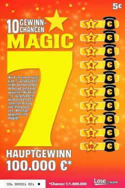 MAGIC 7 Rubbellos