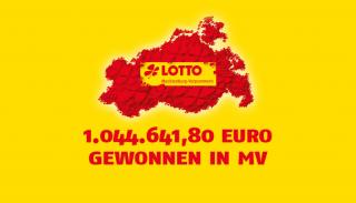 Millionengewinn in Mecklenburg-Vorpommern