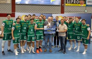 Der SC DHfK Leipzig holte sich erneut den Sieg und bleibt auch in 2022 Titelverteidiger des Spielo-Cups.