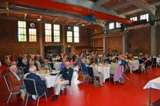 Die Jahreshauptversammlung fand in der Alten Gießerei statt.