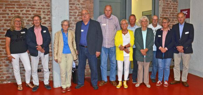 Die Jubilare wurden im Rahmen der Jahreshauptversammlung geehrt.