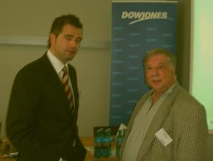 l.  Mike Mohring, <br>Generalsekretär der CDU Thüringen,<br>r.  Chefredakteur<br> Reinhold Schmitt ISA-CASINOS