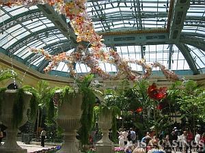 Blumengarten im Casino Las Vegas