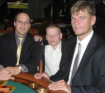 Mario Jaeger, Martin Nobis und Alexander Rönnau (vlnr)
