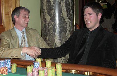 Manfred Wollersheim (1.) und Bastian Freischlad (2.)