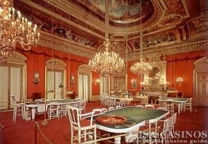 Blick in die Spielbank Baden-Baden<br> aus vergangenen Tagen