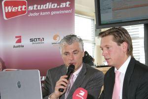 Toni Polster, <br> Dr. Michael Stix - Projektleiter ProSieben Austria