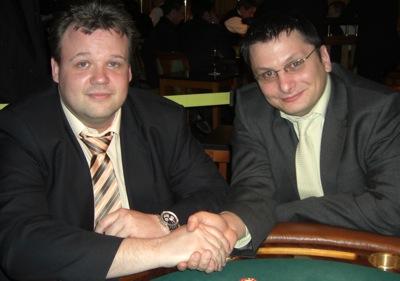 Thomas Scheld (1.) und Mihajlo Dimoski (2.)