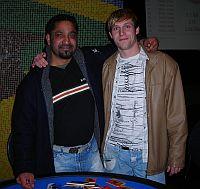 Der Sieger Manjeet Singh (l.) und<br />der zweitplatzierte Paul Beni