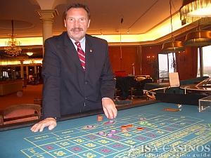 Siegfried Hampel, Technischer Leiter <br>der Spielbank Hamburg