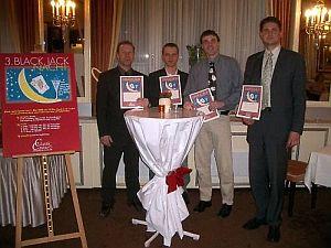 Zufriedene Sieger des Black Jack-Turniers <br>in der Spielbank Bad Neuenahr.<br> Foto Spielbank
