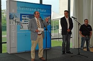 Begrüßung durch Dr. Bieler und Christopher Röhricht