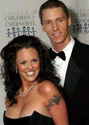 Anna Beson mit Ehemann Kris