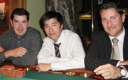 Christopher Dashner, Hin Yue Thach und Marc Stöhr (v.l.n.r.)