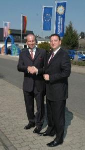 v.l.n.r. Axel Pawlas und Rolf Klug