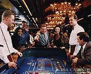 Craps Tisch in Las Vegas