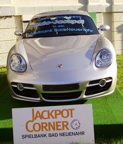 Aktueller Auto-Jackpotgewinn<br>ist ein Porsche Cayman S