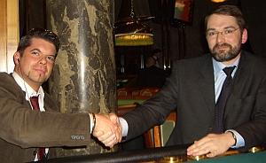 Marco Dicker (2.) & Dr. Daniel Weichmann (1.)