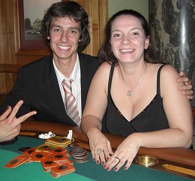 Marko Koppen (li) und Carina Gehrig