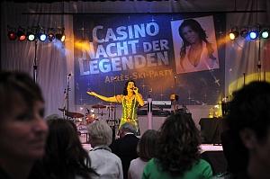 """Stargast """"Antonia"""" bei der """"Casino Nacht der Legenden"""""""