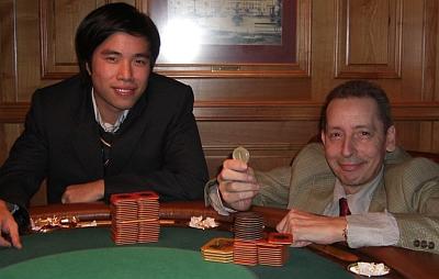 Sieger Michael Thach (li) und Hans-Jörg Najdar