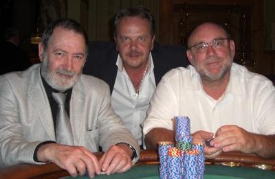 Gordon Mc Mahon (1.), Emil Statescu (3.) und Thomas Pauly (2.)