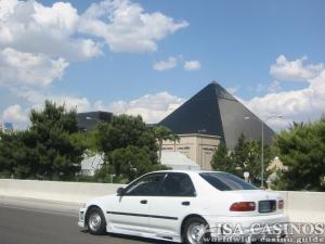 Heimreise vorbei am Luxor Casino